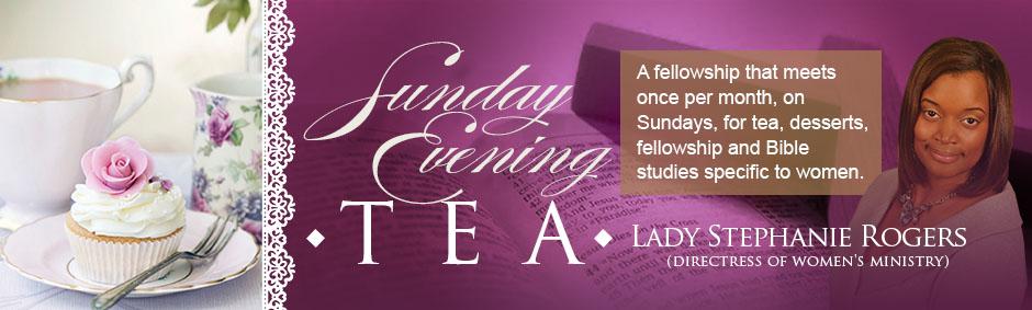 Sunday Evening Tea